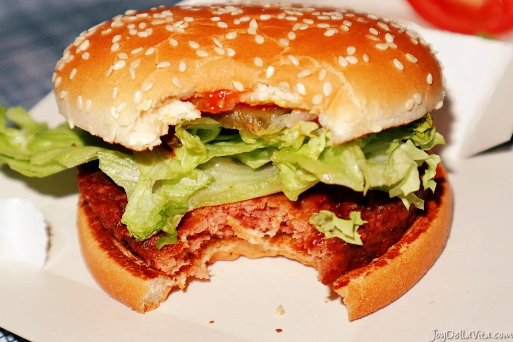 Big Vegan TS - I have tried the vegan McDonalds Burger in Germany and that's how I liked it